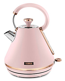 Tower Cavaletto 3kW 1.7Litre Prymaid Pink and Rose Gold Kettle