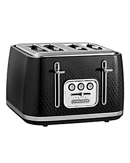 Morphy Richards 243010 Verve 4 Slice Black Toaster