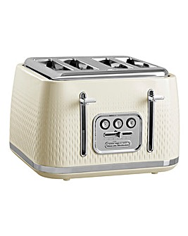 Morphy Richards 243011 Verve 4 Slice Cream Toaster