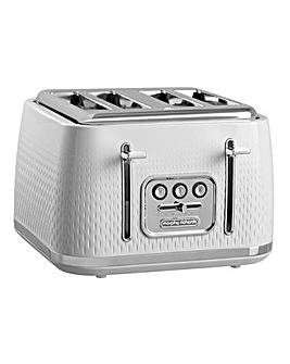Morphy Richards 243012 Verve 4 Slice White Toaster