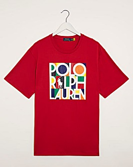 Polo Ralph Lauren Red Short Sleeve Logo T-Shirt