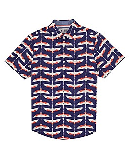 Original Penguin Short Sleeve Print Shirt