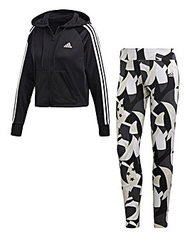 adidas Hoody and AOP Tight