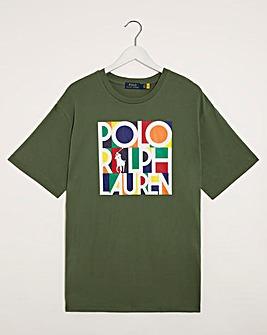 Polo Ralph Lauren Army Green Short Sleeve Logo T-Shirt