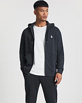 Original Penguin Pinpoint Zip Sweatshirt