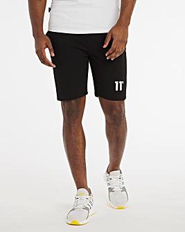 11 Degrees Black Core Sweat Shorts