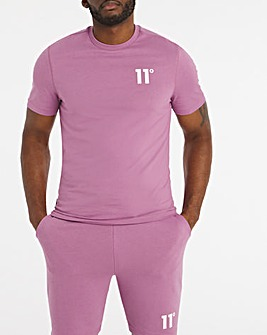 11 Degrees Berry Mist Core Short Sleeve T-Shirt