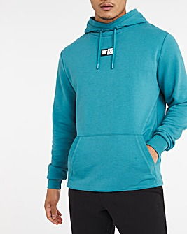 11 Degrees Teal Blue Onyx Pullover Hoodie