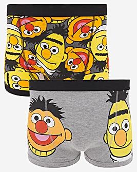 Bert & Ernie 2 Pack Boxers