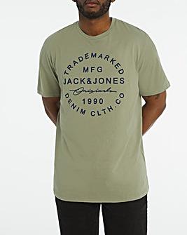 Jack & Jones Geo Central Short Sleeve Logo T-Shirt
