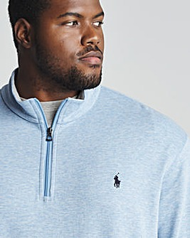 Polo Ralph Lauren Knit Quarter Zip Sweat