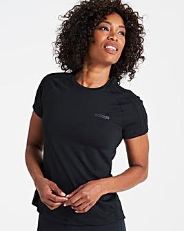 adidas Design 2 Move 3 Stripe T-Shirt