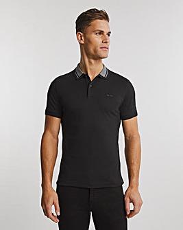 BOSS Black Short Sleeve Slim Fit Polo
