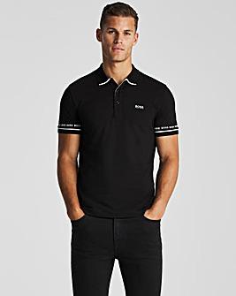 BOSS Black Short Sleeve Regular Fit Paddy Polo