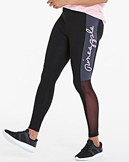 Pineapple Logo Mesh Legging