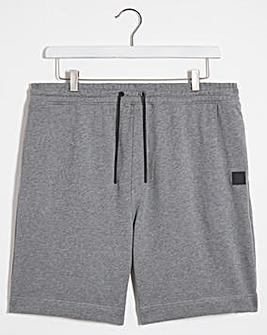 BOSS Light Grey Casual Jersey Short
