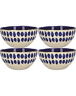 Mikasa Azores Spot Cereal Bowl, 15cm