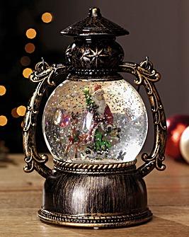 Glitter Globe Lantern