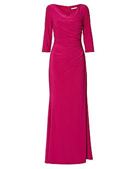 Gina Bacconi Marlena Jersey Maxi Dress