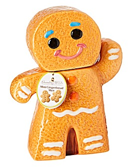 Ceramic Gingerbread Man Cookie Jar