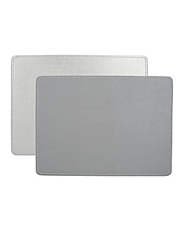 Creative Tops 4 Faux Leather Placemats