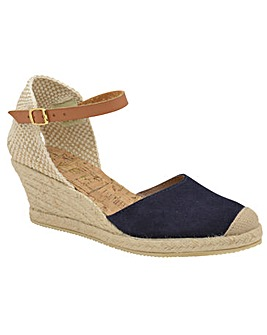 Ravel Etna Suede Wedge Sandals