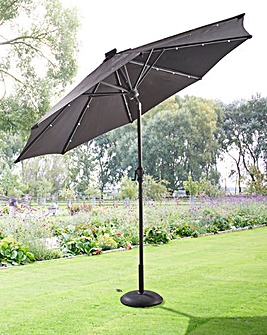 2.7m Parasol with LED strips & Bluetooth