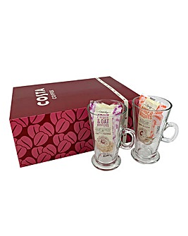 Costa Coffee Latte Set for 2