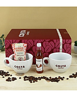 Costa Coffee Cup Duo Set