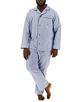 Blue Stripe Long PJ Set