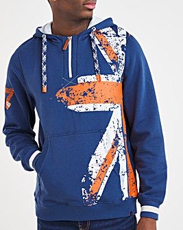 Joe Browns Union Jack 1/4 Zip Sweatshirt
