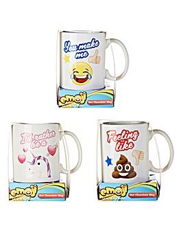 Emoji Mug & Hot Chocolate