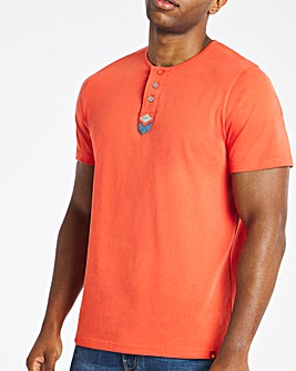 Joe Browns Henley T-Shirt Long