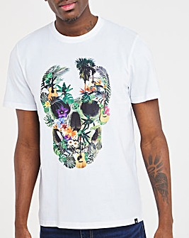 Joe Browns Floral Skull T-Shirt