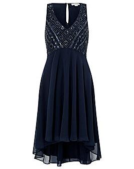 Monsoon Mia Embellished Short Dress