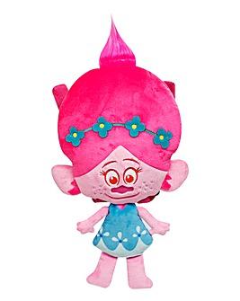 Trolls Poppy Head Plush Backpack