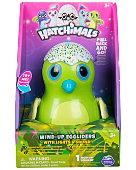 Hatchimals Wind Up Egg Glider