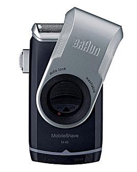 Braun Pocket Go Smart Foil Black Shaver