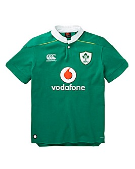 Canterbury Ireland Home Short Sleeve Rugby Shirt