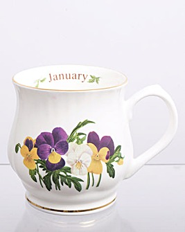 Flower of the Month Mug