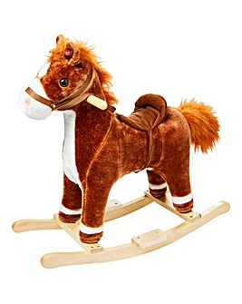Rocking Horse Plush with Sounds