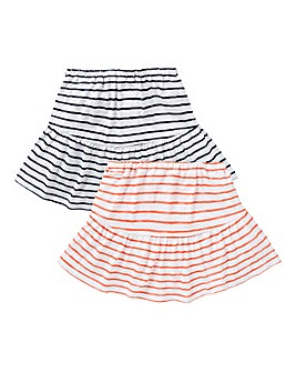 KD Girls Pack of Two Skirts