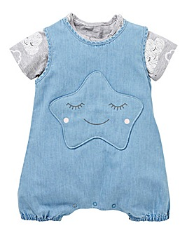 KD Baby Girl Romper and T-Shirt Set befe7ef12