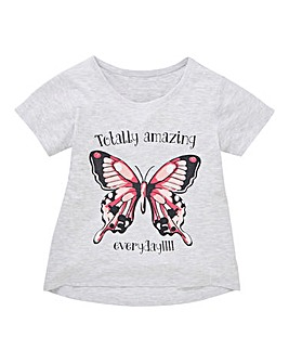 Girls Single Short Sleeve Tee