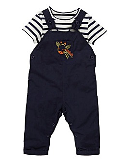 KD Baby Boy Dungaree and T-Shirt Set