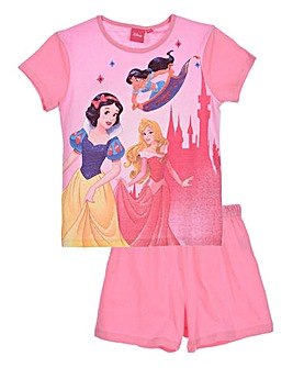 Disney Princess Girls Pyjama Short Set