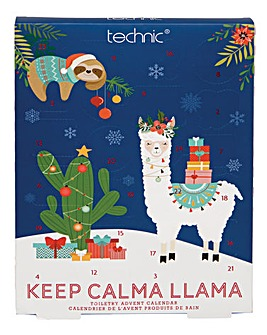 Technic Keep Calma Llama Advent Calendar