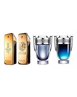 Paco Rabanne Men's Mini Fragrance Set