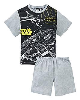 Star Wars Boys Pyjama Short Set