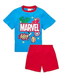 Avengers Boys Pyjama Shorts